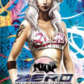 The cover art of the game Pump it Up: Zero Portable.