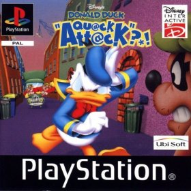 The cover art of the game Donald Duck: Quack Attack (Going Quackers).