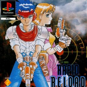 The cover art of the game Rapid Reload.