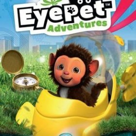 The cover art of the game EyePet Adventures.