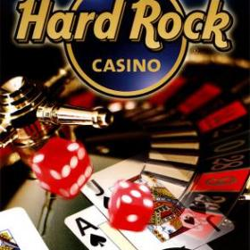 The cover art of the game Hard Rock Casino.