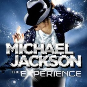 The cover art of the game Michael Jackson: The Experience.