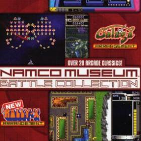 The cover art of the game Namco Museum Battle Collection.