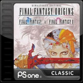 The cover art of the game Final Fantasy Origins.