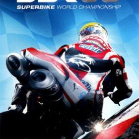 The cover art of the game SBK 08: Superbike World Championship.