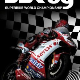 The cover art of the game SBK 09: Superbike World Championship.