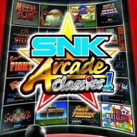 The cover art of the game SNK Arcade Classics Vol.1.