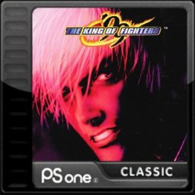 The cover art of the game The King of Fighters '99.