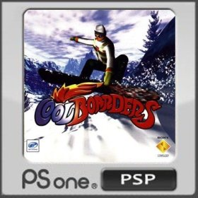 The cover art of the game Cool Boarders.