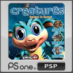 The cover art of the game Creatures 3: Raised in Space.