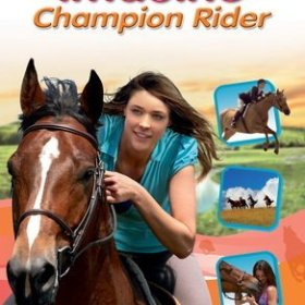 The cover art of the game Imagine Champion Rider.