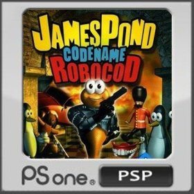 The cover art of the game James Pond 2: Codename RoboCod.