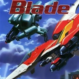 The cover art of the game Soldier Blade.