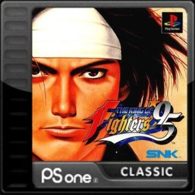 The cover art of the game The King of Fighters '95.