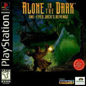 The cover art of the game Alone in the Dark 2: One Eyed Jack's Revenge.