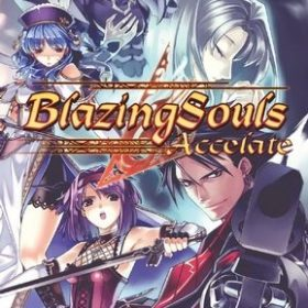 The cover art of the game Blazing Souls: Accelate.