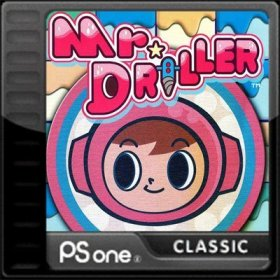 The cover art of the game Mr Driller.