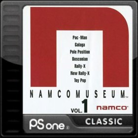 The coverart thumbnail of Namco Museum Vol. 1