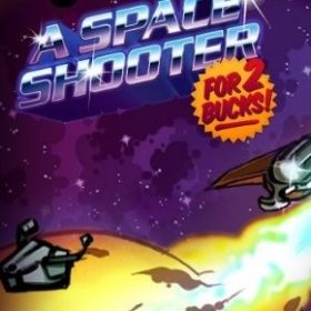 The cover art of the game A Space Shooter for 2 Bucks!.