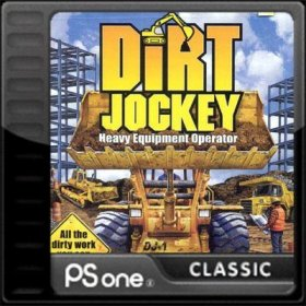 The cover art of the game Dirt Jockey.