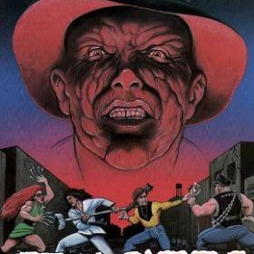 The cover art of the game Gang Wars.