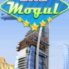 The cover art of the game Hotel Mogul.