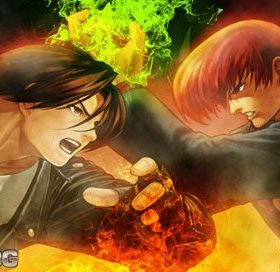 The cover art of the game The King of fighters 94 - 2003 for PSP.