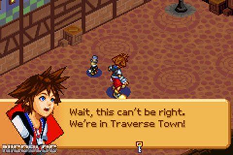 Kingdom Hearts Chain Of Memories USA GBA ROM Cdromance