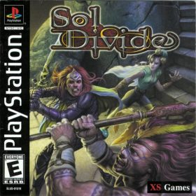 The cover art of the game Sol Divide.