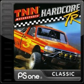 The cover art of the game TNN Motor Sports Hardcore TR.