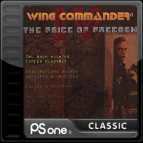 The cover art of the game Wing Commander IV: The Price of Freedom.