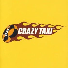 The cover art of the game Crazy Taxi.