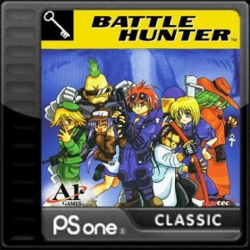 The cover art of the game Battle Hunter.
