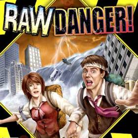 The cover art of the game Raw Danger! (UNDUB).
