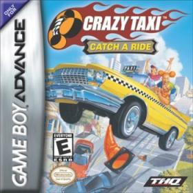 The cover art of the game Crazy Taxi: Catch a Ride.