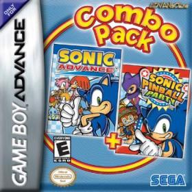 The coverart thumbnail of Combo Pack: Sonic Advance + Sonic Pinball Party