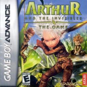 The cover art of the game Arthur and the Invisibles.