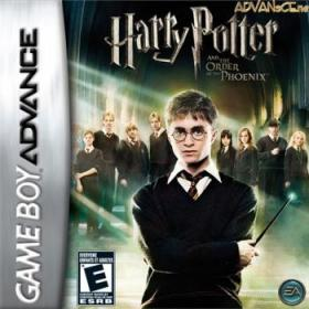 The cover art of the game Harry Potter and the Order of the Phoenix.