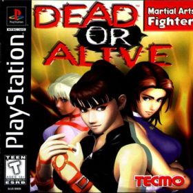 The cover art of the game Dead or Alive.