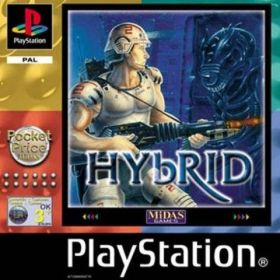The cover art of the game Hybrid.