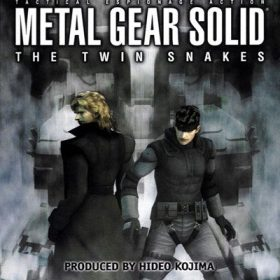 The cover art of the game Metal Gear Solid: The Twin Snakes.