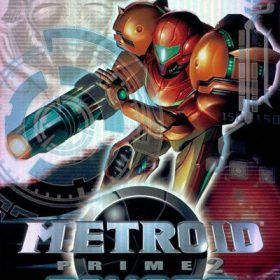 The cover art of the game Metroid Prime 2: Echoes.