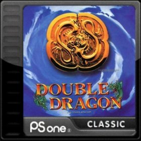 The cover art of the game Double Dragon.