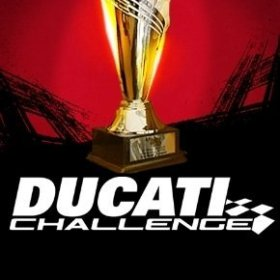 The cover art of the game Ducati Challenge.
