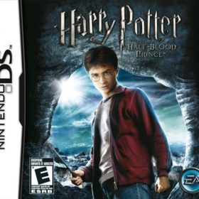 The cover art of the game Harry Potter and the Half-Blood Prince.