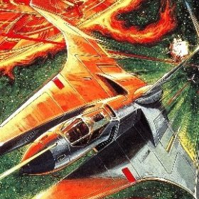 The cover art of the game Gradius II: Gofer No Yabou.