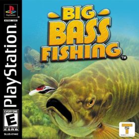 The cover art of the game Big Bass Fishing.