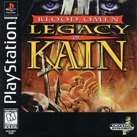 The cover art of the game Blood Omen: Legacy of Kain.