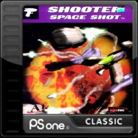 The cover art of the game Space Shot.