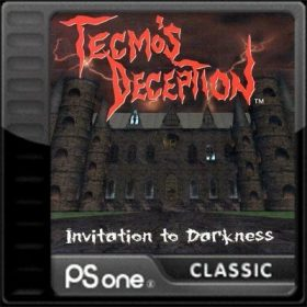 The cover art of the game Tecmo's Deception: Invitation to Darkness.